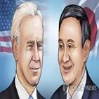 스가,바이든,총리,미국,일본,회담,대통령,양국,정상
