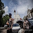 성당,테러,교회,부활절,인도네시아,강화,발생