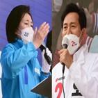 검색,오세훈,후보,박영선