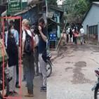 취재팀,인터뷰,군부,시민,미얀마,석방
