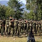 군부,소수민,무장단체,청년,미얀마,입대,자치권,소수민족,독립군