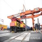 중국,선박,유럽,화물열차,이후,운하,수에즈