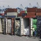 쓰레기,컨테이너,말레이시아,플라스틱,선진국