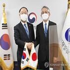 협력,한국,일본,정상회의,개최,기후변화,코로나19
