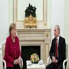 우크라이나,문제,메르켈,푸틴,시리아,리비아,논의