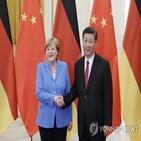중국,백신,협력,메르켈,유럽,독일
