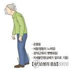 파킨슨병,약물,환자,복용,증상,효과,발생,떨림,운동