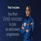 우주인,여성,우주,아랍,선발