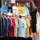판매량,여름,민소매,티셔츠,날씨
