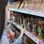 삼각김밥,매출,등교