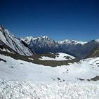 히말라야,마을,해발,말라리아,고지대,목격,네팔