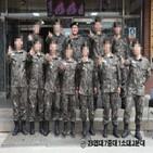 김호중,훈련소