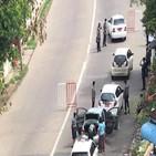 양곤,검색,검문,군경,미얀마,차량,기자