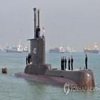 잠수함,낭갈라함,인도네시아,대우조선해양,실종,해군,가능성,훈련,해저,잠수