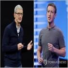 애플,아이메시지,페이스북,경쟁,강화,이용자,광고