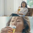 윤여정,광고,배우,모델,지그재그,아카데미