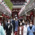 일본,확진,일주일