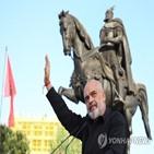 총리,라마,총선,알바니아,사회당,승리,민주당