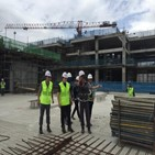 회장,출장,싱가포르,현장,쌍용건설,공구,프로젝트