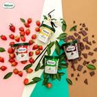 딸기,풍부,초콜릿,제품,나뚜루