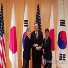 외교장관,회담,한미일,영국,한국