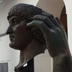 청동상,대제,로마,손가락