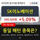 SK이노베이션,기관,상승,순매매량