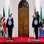 양국,케냐,대통령,탄자니아,코로나19,관계,합의,방역