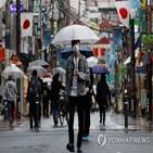 연장,긴급사태,일본,지역