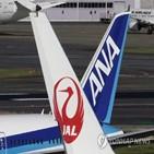 일본,실적,항공사,손실