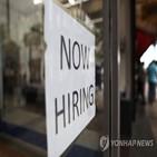 일자리,증가,실망,예상,수요