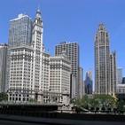 백신,접종,시카고,빌딩,사람,도심