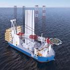 대형,대우조선해양,수주,해상풍력발전기,설치
