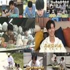 이지훈,기안84,배우,혼자,김충재,모습,공개,이날,무지개,도시락