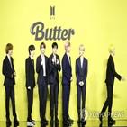 뮤직비디오,버터,방탄소년단,기록