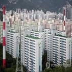 서울,아파트값,상승률,반등,토지거래허가구역,상승