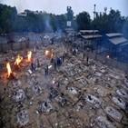 인도,사망자,기록,코로나