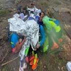 대회,참가자,구조,중국,사망,강풍,기온,간수성