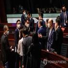 홍콩,선거제,입법회,개편안,선거