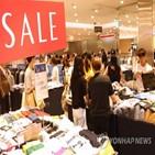 증가,연속,소매판매액
