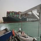 좌초,이집트,수에즈,선박,운하,선장