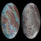가니메데,근접,목성,주노,위성,탐사,비행