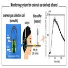 측정,에탄올,증기,피부,귀마개