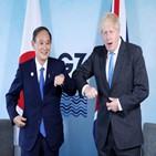 총리,존슨,스가,영국,일본,지지,중국