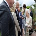 여왕,부부,왕실,정상,바이든,영국,대통령