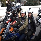 대통령,보우소나,오토바이,행진,우려,지지자