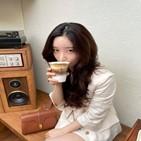 정채연,커피,연모