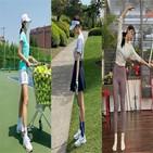 컬러,운동,골프,스커트,스포티