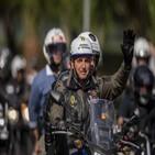 대통령,오토바이,보우소나,행진,지지자