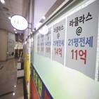 전세,서울,전셋값,아파트,이주,전용,올해,시장,경기도,지역